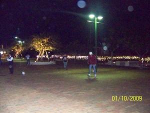 americana street night